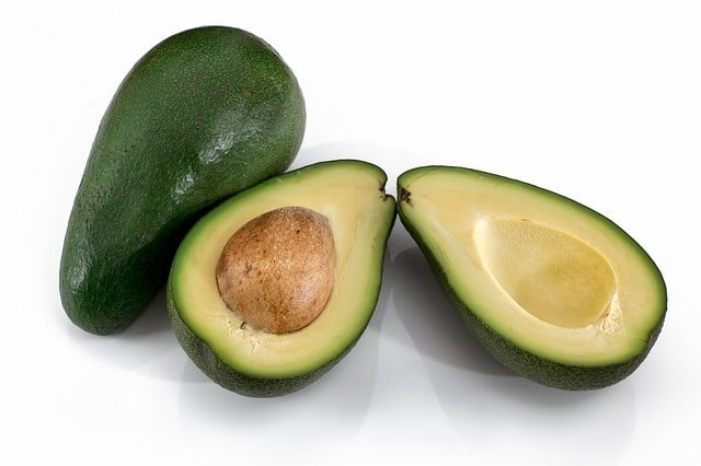 Avocado face mask for glowing skin